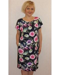 Платье вискозное Синди розы Инсантрик