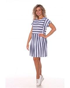 Платье трикотажное Дигна синее Инсантрик