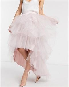 Бежевая юбка Chi chi london