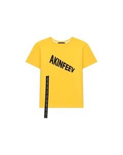 Хлопковая футболка Makoday