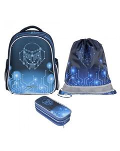 Рюкзак школьный с наполнением Stoody II Robo Magtaller
