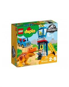 Конструктор Jurassic World Башня Ти Рекса Lego