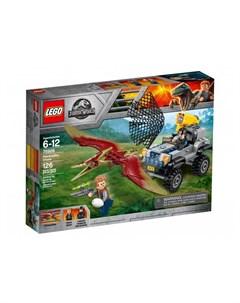 Конструктор Jurassic World Погоня за птеранодоном Lego