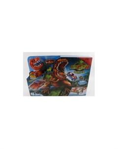 Тойз Автотрек с динозавром и металлической машинкой Джамбо