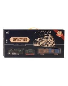 Тойз Железная дорога классика на батарейках свет звук 23 детали Джамбо