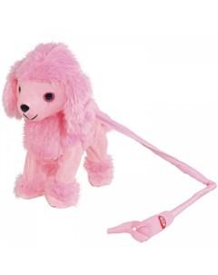 Интерактивная игрушка Собачка на жестком поводке JB0572042 Пушистые друзья