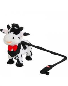 Интерактивная игрушка Корова на жестком поводке Пушистые друзья