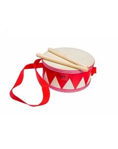 Музыкальный инструмент Детский маршевый барабан 20 см Flight