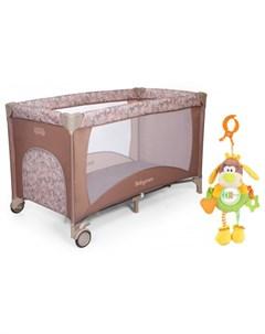 Манеж Arena и подвесная игрушка Жирафики Веселый щенок Baby care