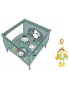 Манеж Play Up и подвесная игрушка Жирафики Веселый щенок Baby design