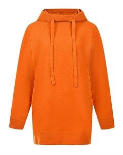 Оранжевое худи oversize Mrz