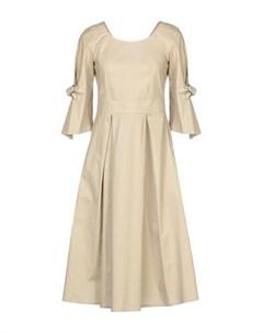 Платье до колена Le bisbetiche by camicettasnob