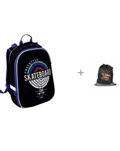 Рюкзак Ergonomic 1 отделение Скейт и мешок для обуви Magtaller Boxi Racing Schoolformat