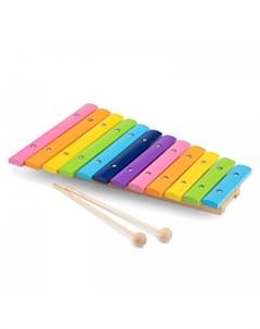 Деревянная игрушка Ксилофон 10236 New cassic toys