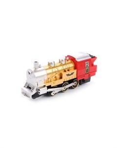 Железная дорога с дымом 282 см 11 элементов Play smart