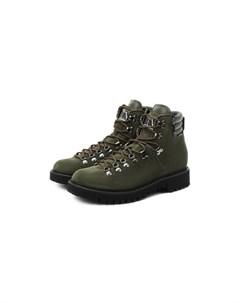 Замшевые ботинки Garavani Valentino