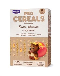 Каша овсяная с персиком Premium Pro Cereals цельнозерновая молочная 200гр Nutrilak