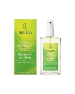 Цитрусовый дезодорант спрей 24h 100 мл Weleda