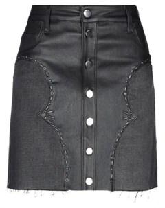 Джинсовая юбка Amiri