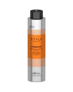 Жидкий гель для текстурирования волос Hydrogloss texturizing liquid gel 15917 200 мл Kaaral (италия)