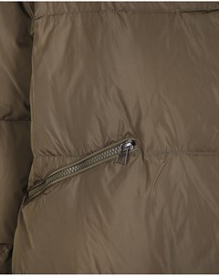 Стеганое пальто цвета хаки Freedomday