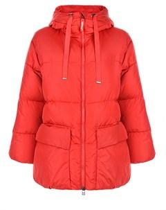 Красная куртка с контрастной подкладкой Freedomday