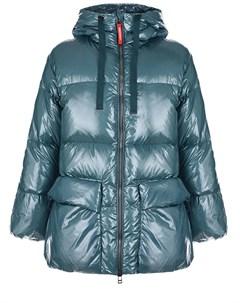 Бирюзовая куртка с глянцевым эффектом Freedomday