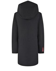 Пуховое пальто черного цвета детское Freedomday