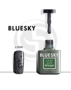 luxury silver гель лак lv648 10мл Bluesky