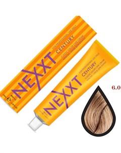 крем краска 6 0 темно русый натуральный 100мл Nexxt