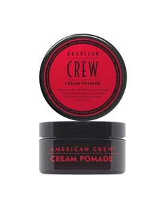 American crew cream pomade крем помада с легкой фиксацией и низким уровнем блеска 85 мл