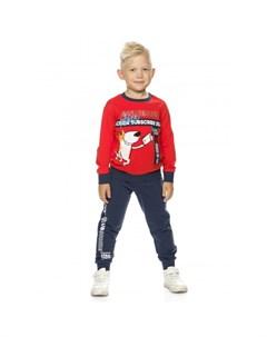 Комплект для мальчиков свитшот брюки BFANP3194 Pelican
