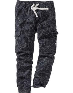 Штаны спортивные с карманами карго Bonprix