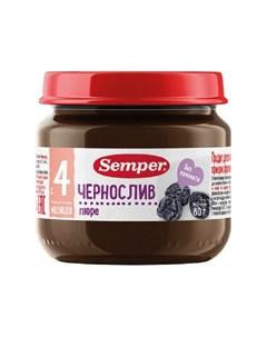 Пюре Чернослив 80гр Semper
