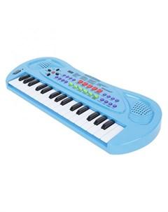Музыкальный инструмент Синтезатор с микрофоном 32 клавиши Zhorya