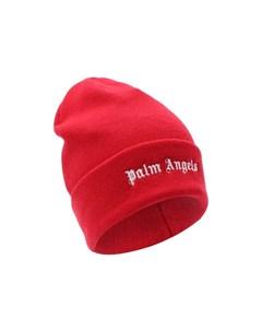 Шерстяная шапка Palm angels