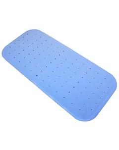 Антискользящий резиновый коврик для ванны голубой 34 5х76 см Roxy kids
