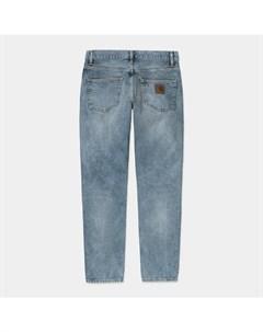 Джинсы Klondike Pant Slim Blue Light Used Wash 2021 Carhartt wip