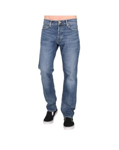 Джинсы Klondike Pant Slim Blue Mid Used Wash 2021 Carhartt wip