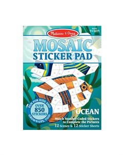 Набор мозаика стикер Океан Melissa & doug