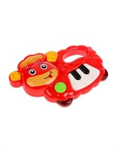 Музыкальный инструмент Пианино 27 потешек и песен из мультфильмов Умка