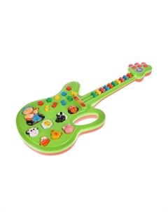 Музыкальный инструмент Электрогитара 20 песен из мультфильмов B212180 R1 Умка