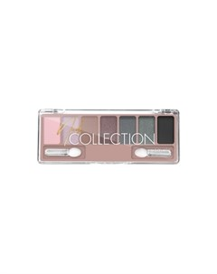 Тени для век Nude Collection тон 04 серо розовый нюд Lavelle collection