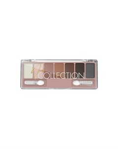 Тени для век Nude Collection тон 01 классический нюд Lavelle collection