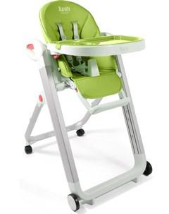 Стульчик для кормления Futuro Bianco зеленый Nuovita