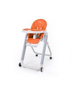 Стульчик для кормления Futuro Senso Bianco оранжевый Nuovita