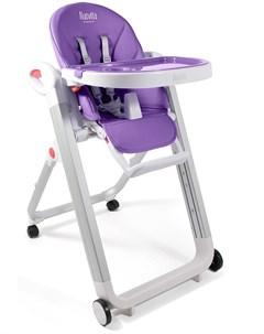 Стульчик для кормления Futuro Bianco фиолетовый Nuovita