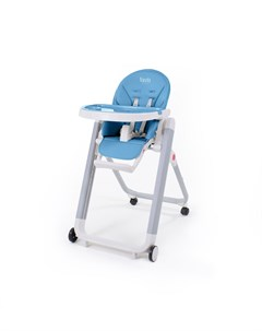 Стульчик для кормления Futuro Senso Bianco синий Nuovita