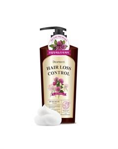 Шампунь с экстрактом клевера от выпадения волос deoproce hair loss control shampoo Deoproce