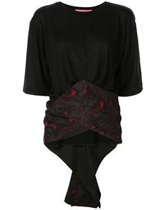 Блузка с широким поясом Y's